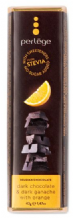 Perlege Stevia Dark Chocolate & Dark Orange Ganache Bar 42g